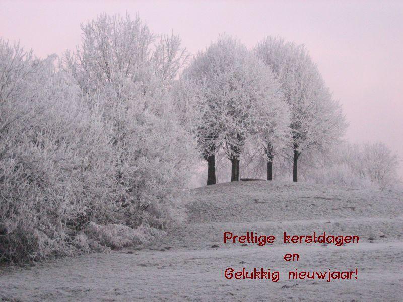 Prettige kerstdagen - Gelukkig nieuwjaar!